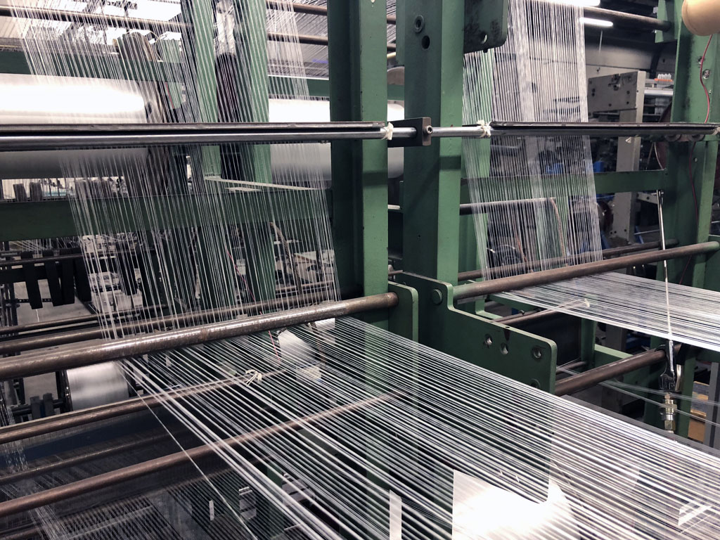 custom woven textile machine